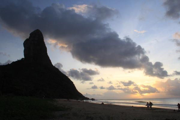 Morro do Pico - Entardecer na Praia da Conceição