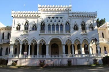 Palacio Quinta Vergara, depois do terremoto de 2010
