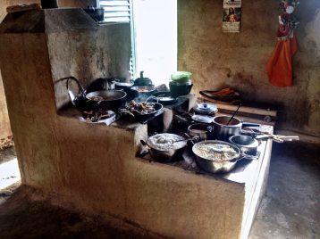 Maravilha de almoço na cozinha da Januária <3