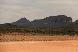 Morro da Baleia visto da Estrada de São Jorge para Alto