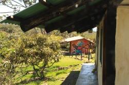 Hostel Catavento - Vista da porta do nosso quarto