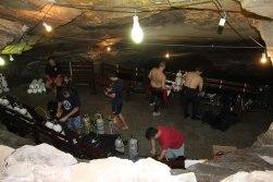 Estação de Mergulho em Caverna
