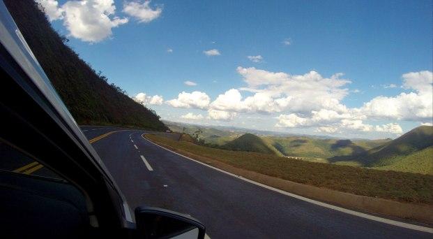As belas paisagens da Estrada Real