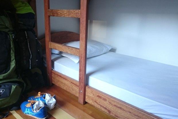 Nosso quarto no Freedom Hostel