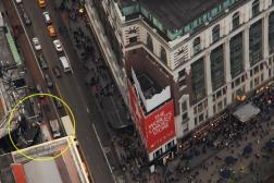 MACYS vista do Empire State Building (o circulo em amarelo é a 34th Station, de onde saímos e vimos NYC pela primeira vez <3)