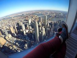 NYC e Brooklyn vistos do One World