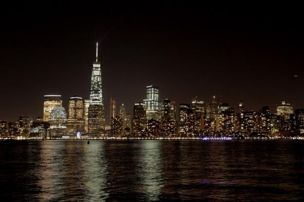 NYC Skyline visto do Liberty State Park, em Jersey City