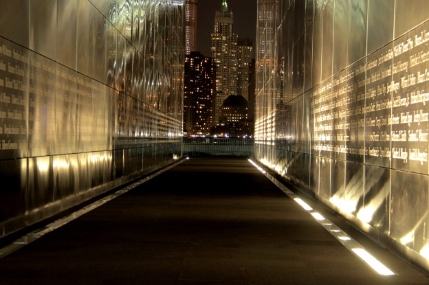 Memorial Empty Sky com NYC ao fundo