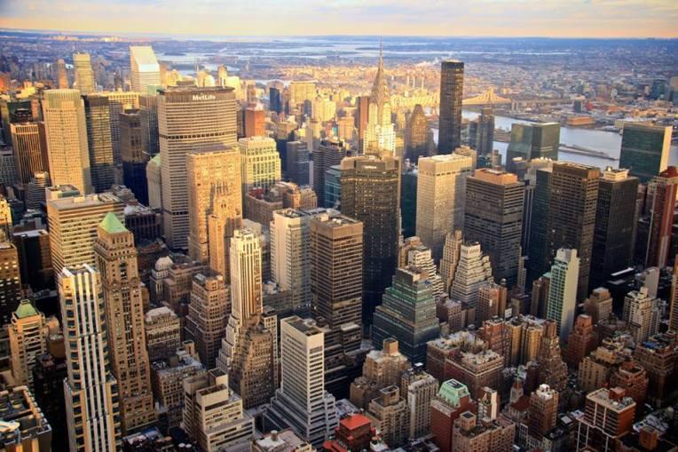 A vista do Empire State Building