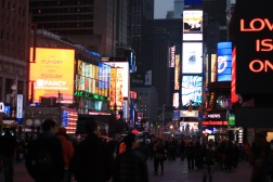 Times Square à noite