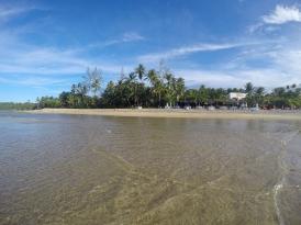 Praia Boca da Barra com a maré baixa