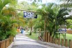 Vila da Barra Boipeba, uma galeria bem bonita na praia