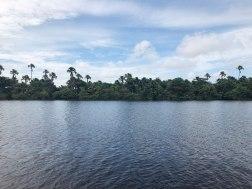 Rio Preguiças, visto do deck da pousada Orla Náutica