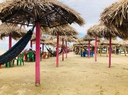 Barracas de praia do Pesqueiro