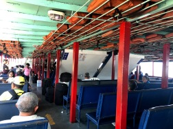 A embarcação de Salvaterra à Belém (bem confortável, #sqn rs)