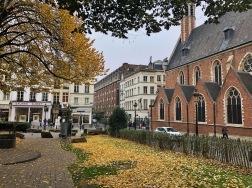 Pelas ruas de Bruxelas no outono <3