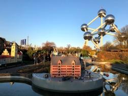 Atomium visto da Mini Europe