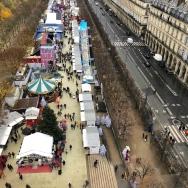 Mercado de Natal visto da roda gigante