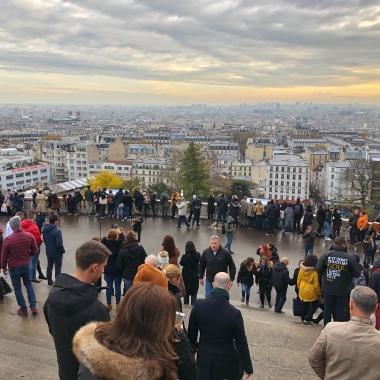 Vista da Sacré-Cœur
